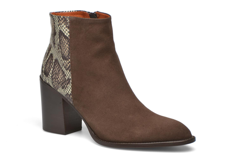 Bottines et boots Elizabeth Stuart Java 500 Marron vue détail/paire