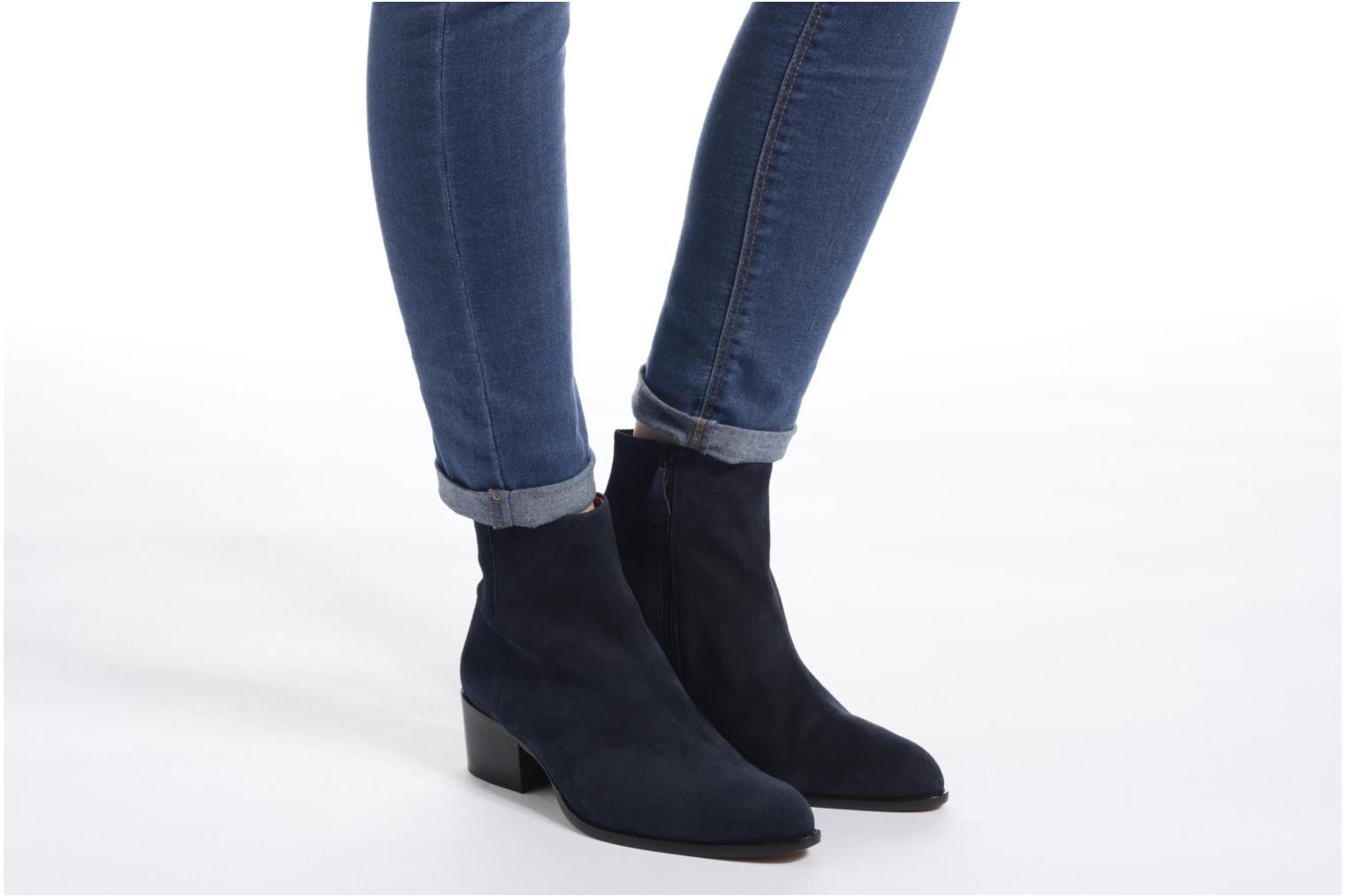 Ankle boots Elizabeth Stuart Havys 300 Blue view from underneath / model view