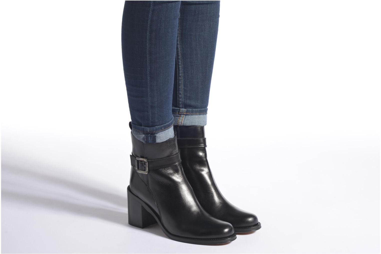 Bottines et boots Elizabeth Stuart Solti 304 Noir vue bas / vue portée sac