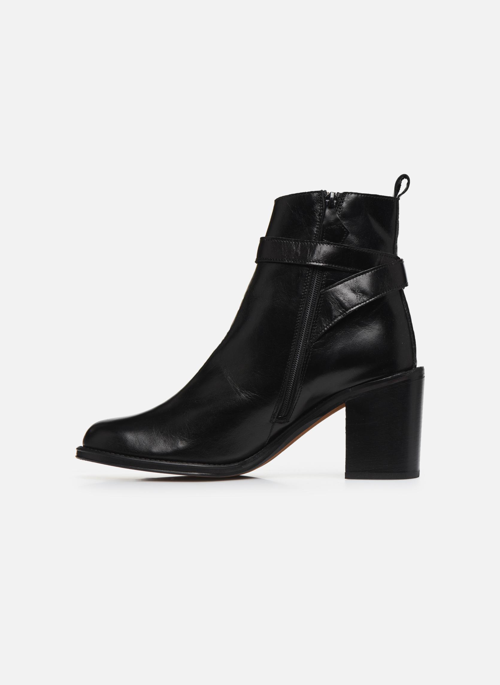 Bottines et boots Elizabeth Stuart Solti 304 Noir vue face