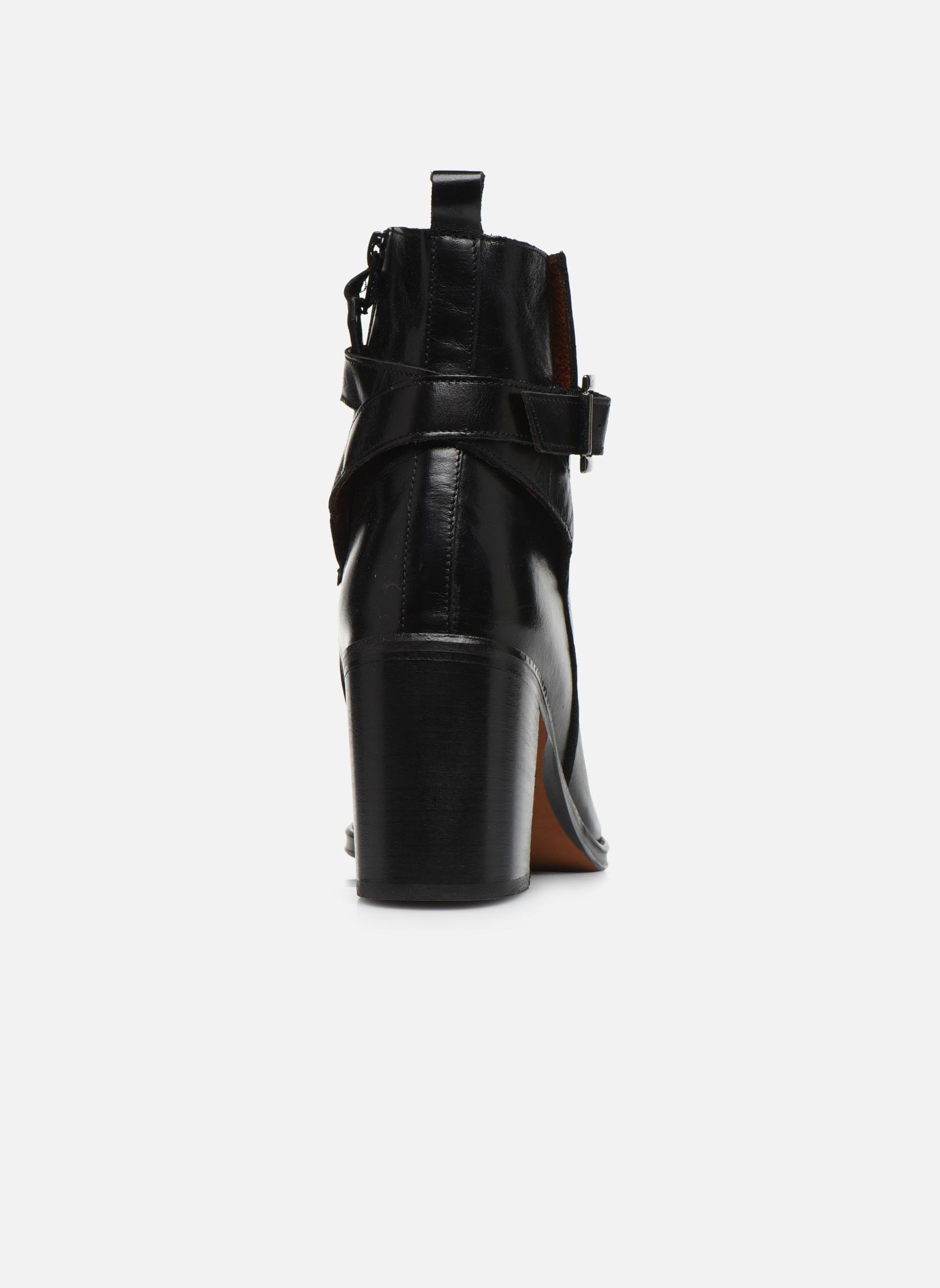 Bottines et boots Elizabeth Stuart Solti 304 Noir vue droite