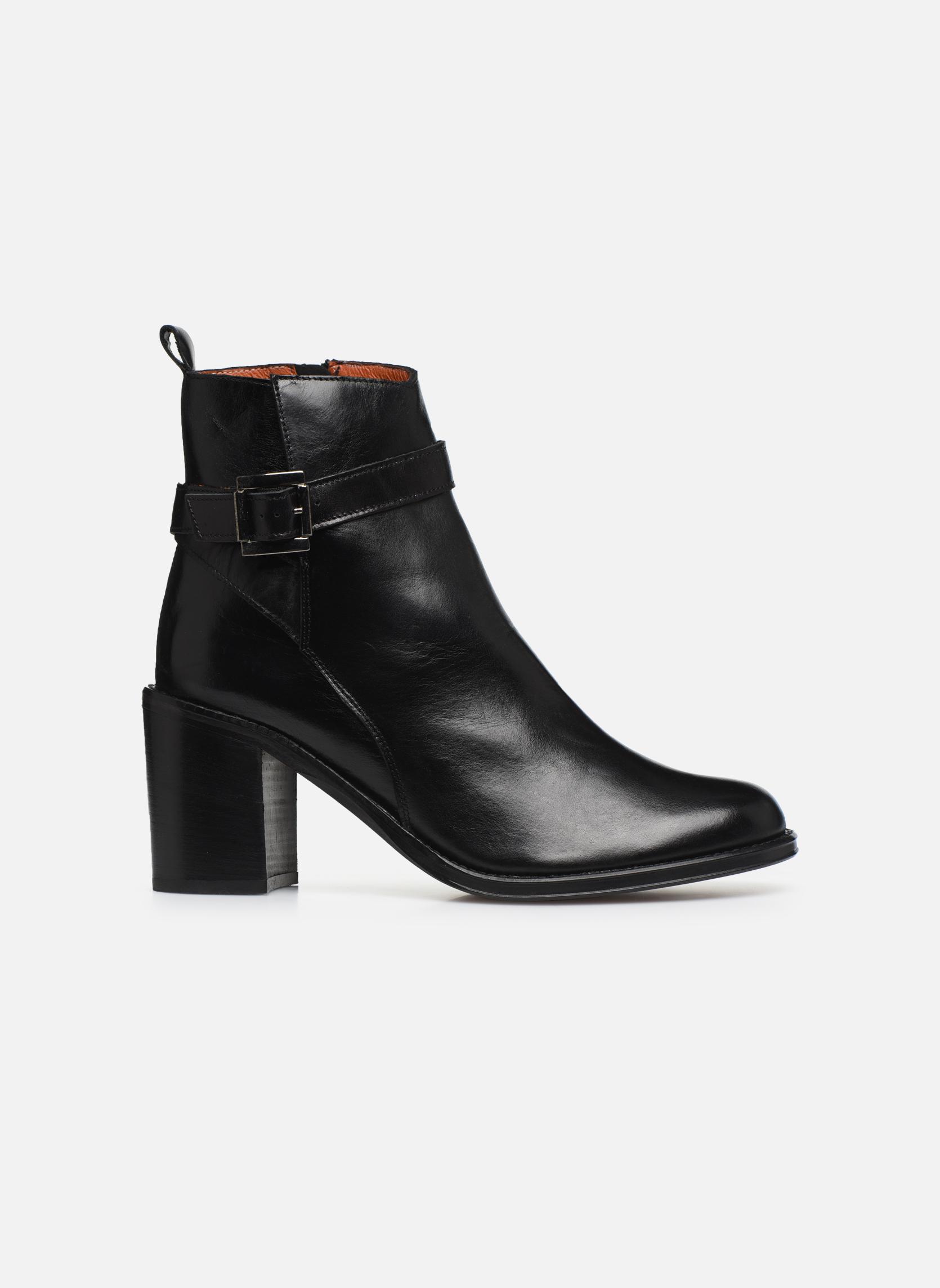 Bottines et boots Elizabeth Stuart Solti 304 Noir vue derrière