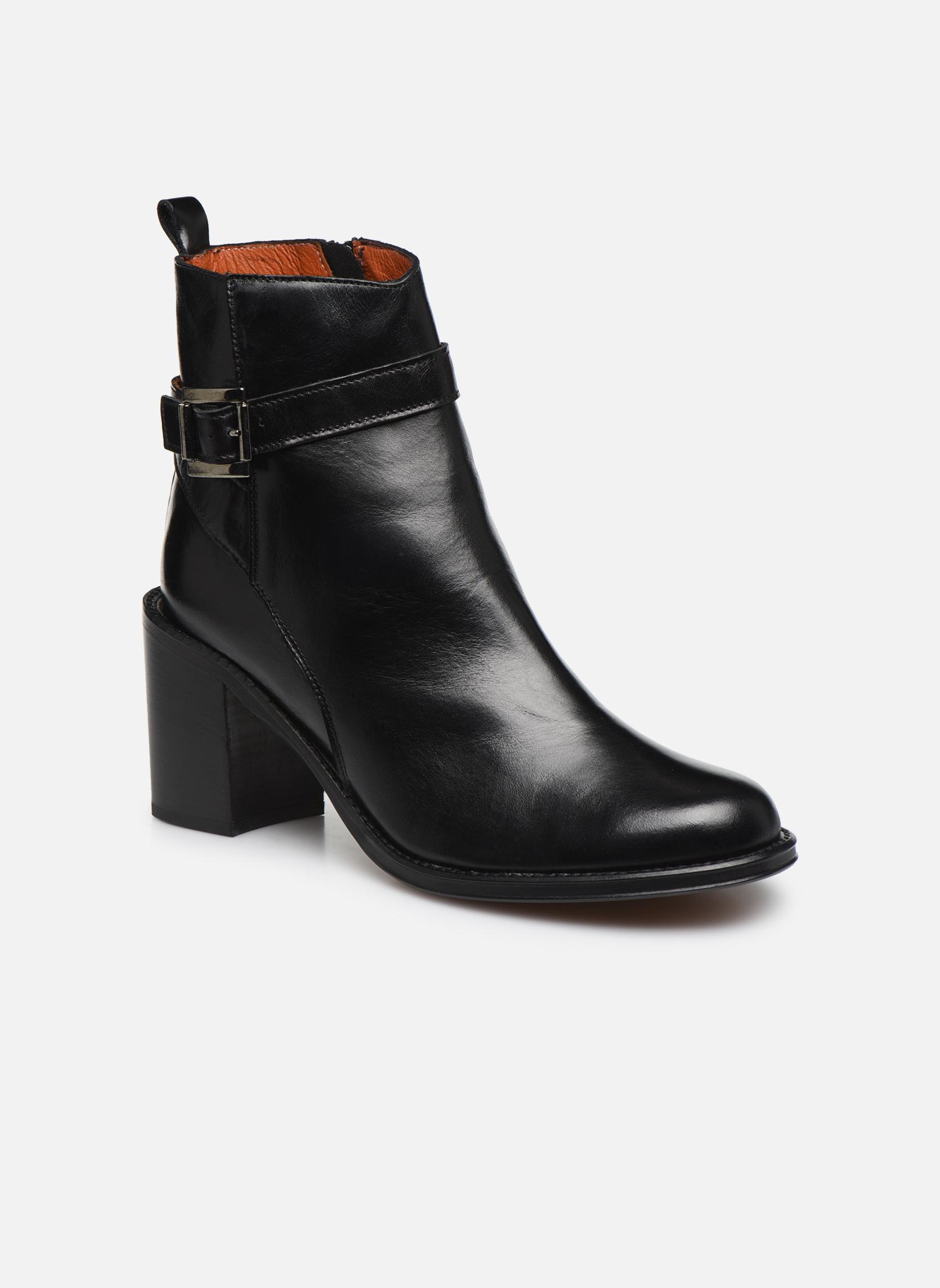Bottines et boots Elizabeth Stuart Solti 304 Noir vue détail/paire