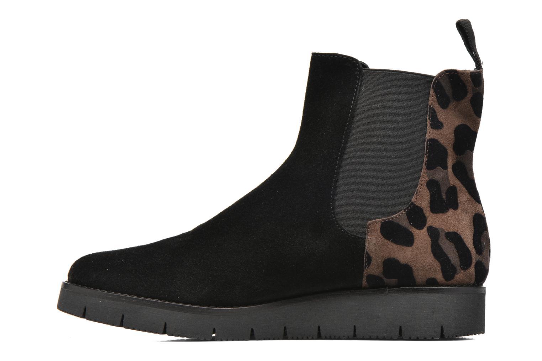 Ankle boots Elizabeth Stuart Atou 501 Black front view