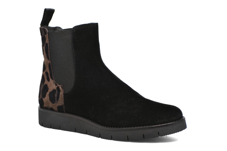 Ankle boots Elizabeth Stuart Atou 501 Black detailed view/ Pair view
