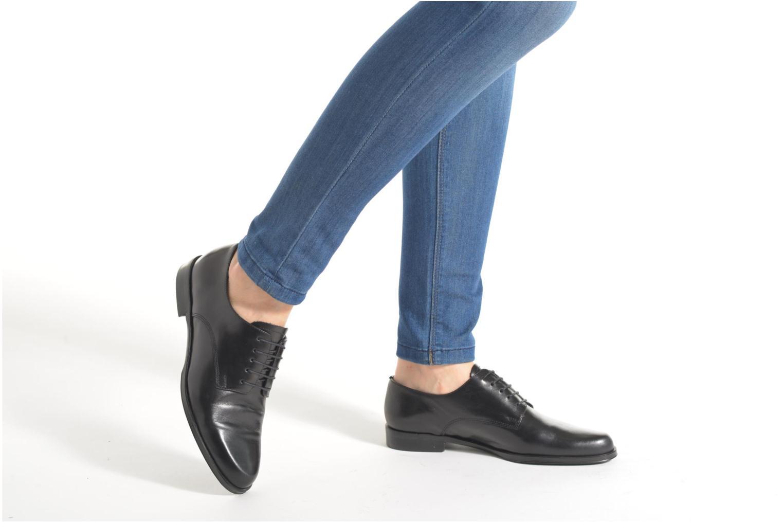 Chaussures à lacets Elizabeth Stuart Copra 304 Noir vue bas / vue portée sac
