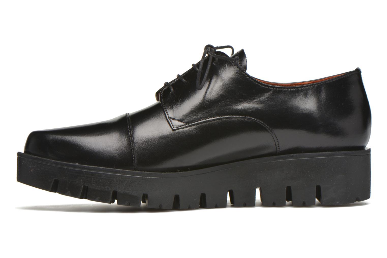 Lace-up shoes Elizabeth Stuart Millau 304 Black front view