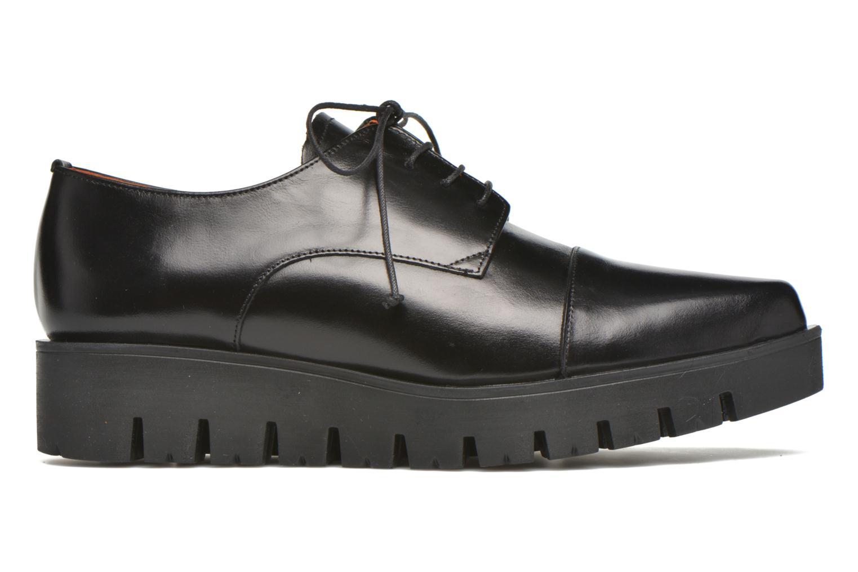 Lace-up shoes Elizabeth Stuart Millau 304 Black back view