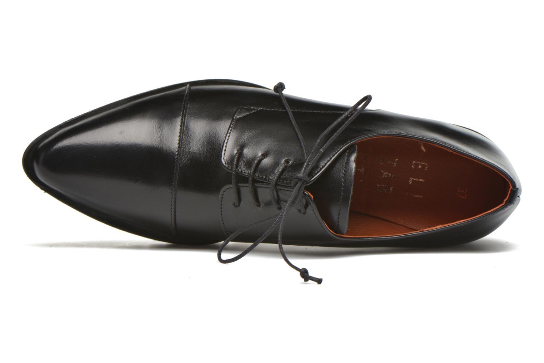 Lace-up shoes Elizabeth Stuart Millau 304 Black view from the left