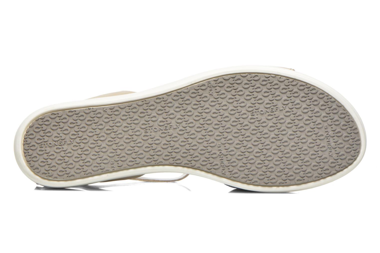 Sandales et nu-pieds Stonefly Sophia 6 Calf Beige vue haut
