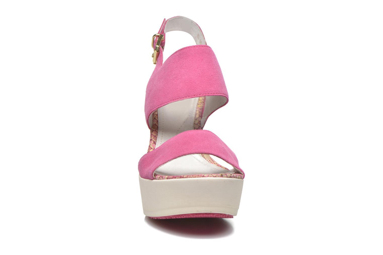 Sandals Stonefly Saint Tropez 7 Velour Pink model view