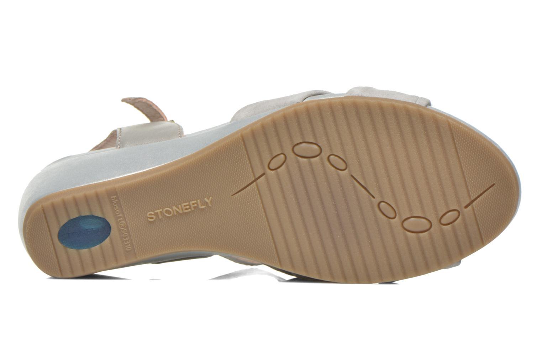 Sandales et nu-pieds Stonefly Sweet II 22 GO Gris vue haut