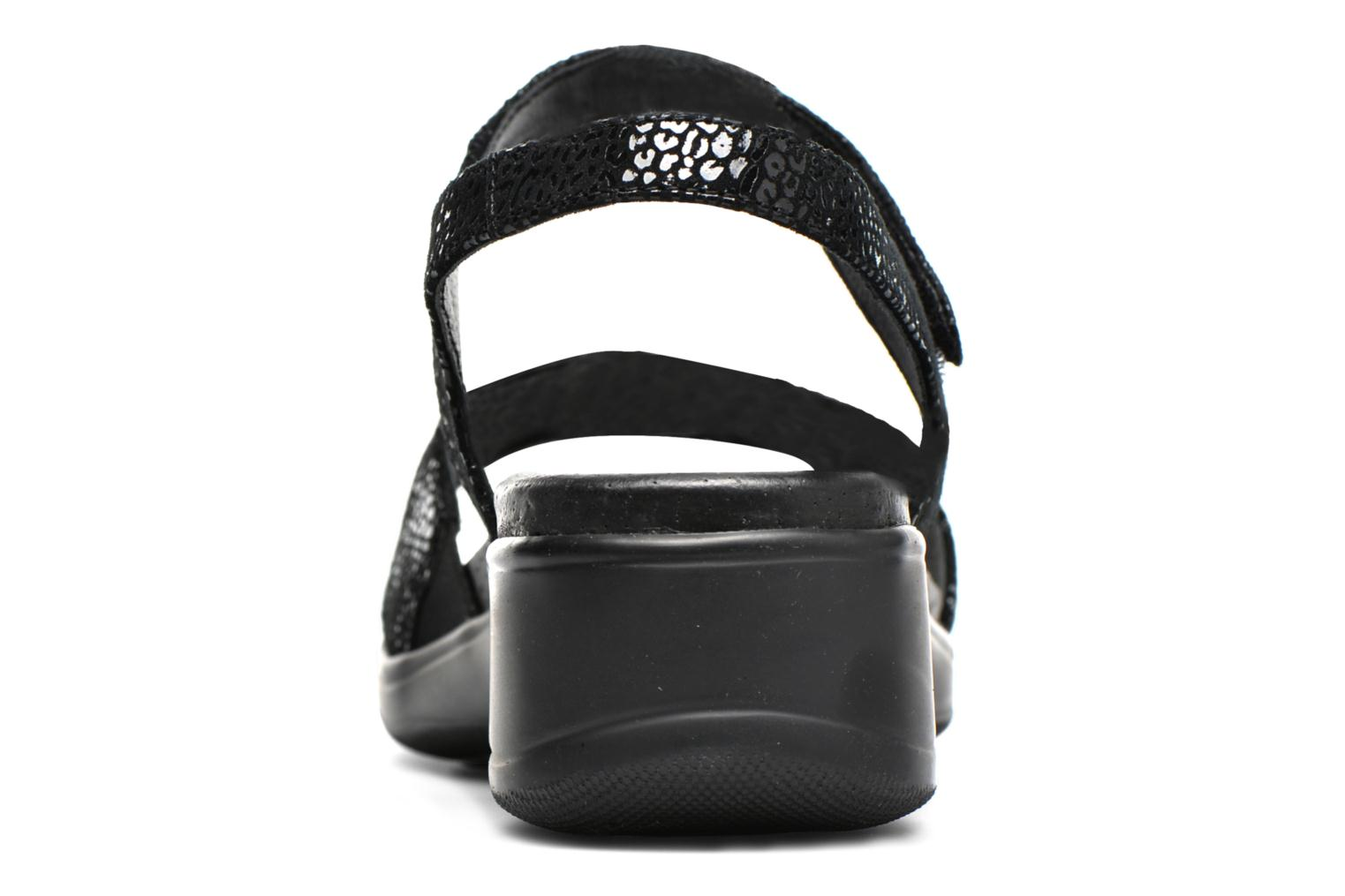 Sandals Stonefly Aqua II 7 Goat Black view from the right