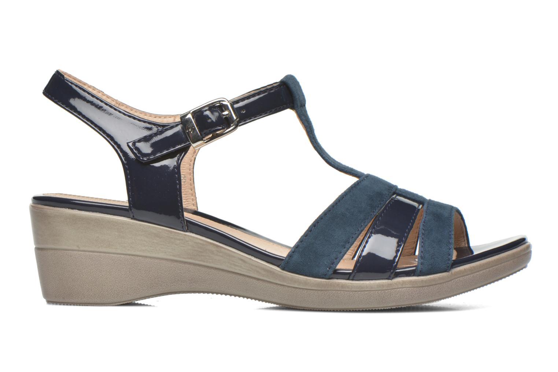 Sandales et nu-pieds Stonefly Vanity III 2 Go Bleu vue derrière