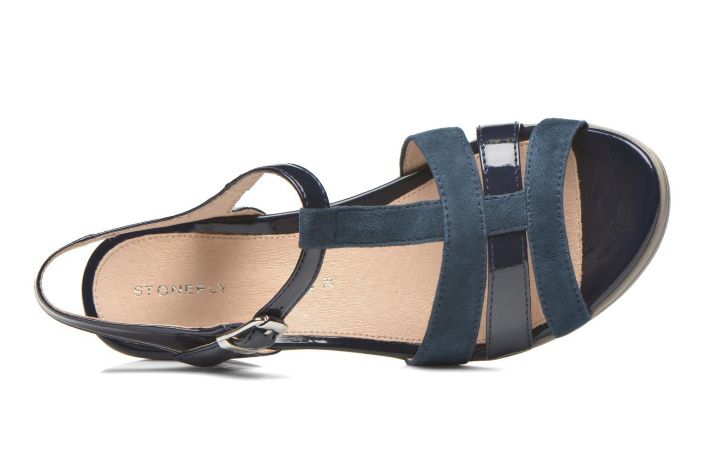 Sandales et nu-pieds Stonefly Vanity III 2 Go Bleu vue gauche