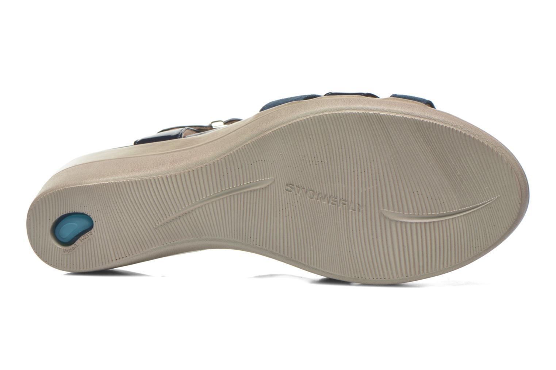 Sandales et nu-pieds Stonefly Vanity III 2 Go Bleu vue haut