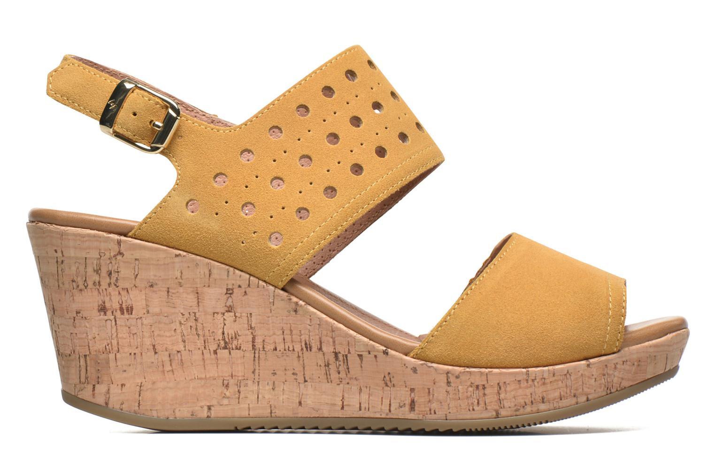 Sandales et nu-pieds Stonefly Marlene 19 Velour Jaune vue derrière