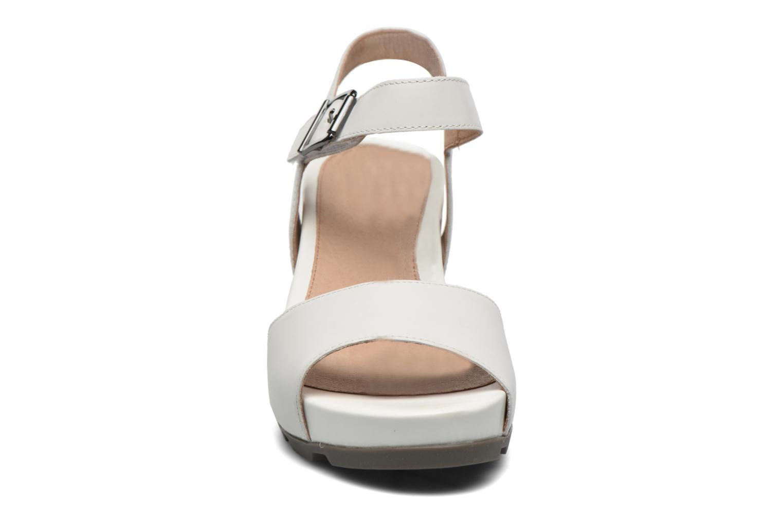 Sandalen Stonefly Anita 1 weiß schuhe getragen