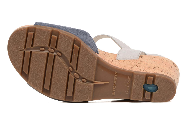 Sandales et nu-pieds Stonefly Anita 1 Bleu vue haut