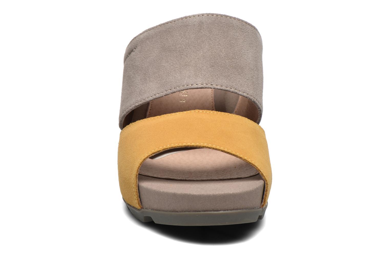Mules et sabots Stonefly Anita 2 Velour Gris vue portées chaussures