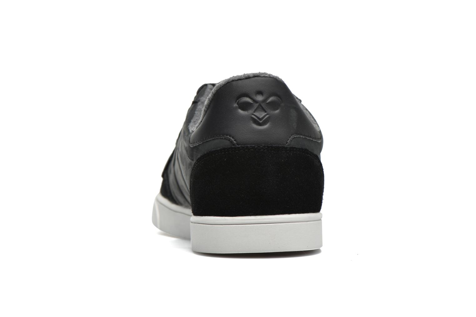 Baskets Hummel Ten Star Mono Oiled Low Noir vue droite