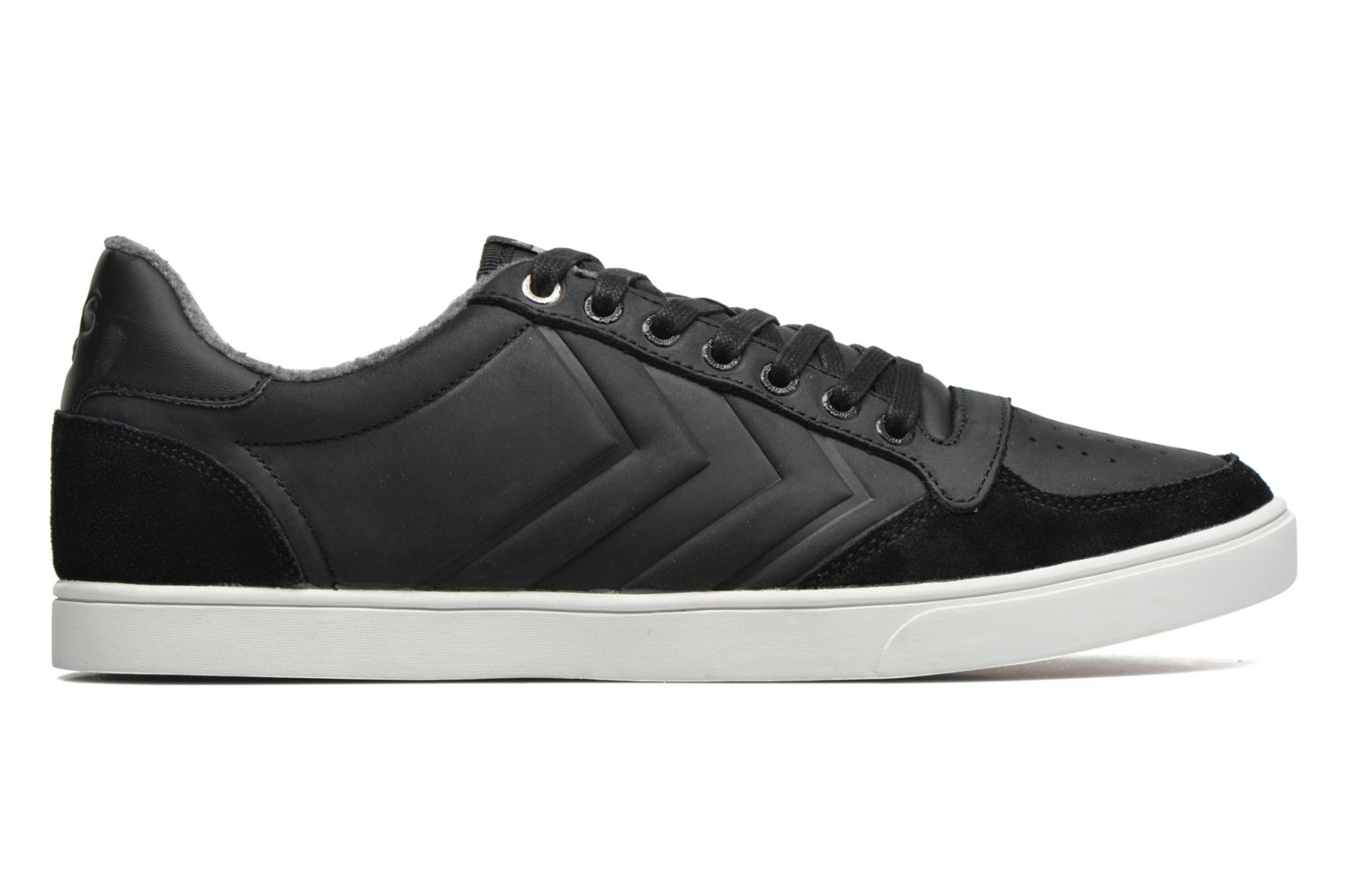 Baskets Hummel Ten Star Mono Oiled Low Noir vue derrière