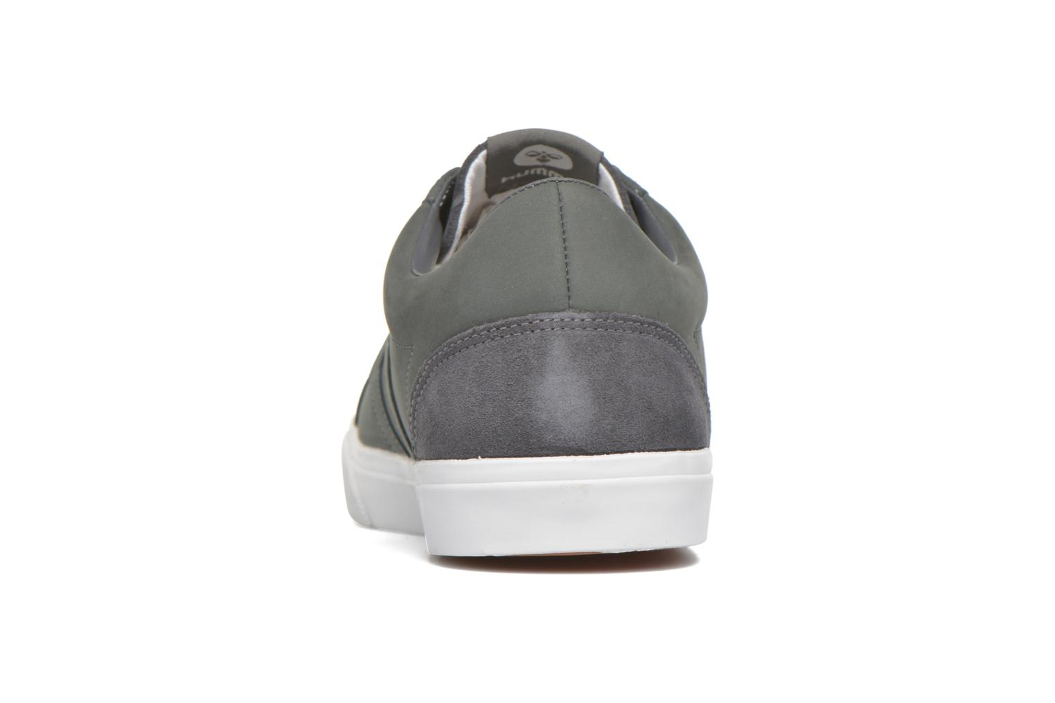 Trainers Hummel Baseline Court Leather Grey view from the right