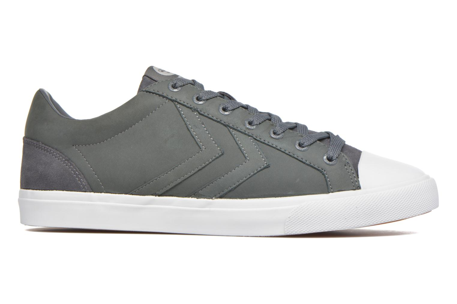 Trainers Hummel Baseline Court Leather Grey back view