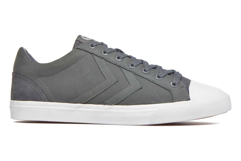 Sneaker Hummel Baseline Court Leather grau ansicht von hinten