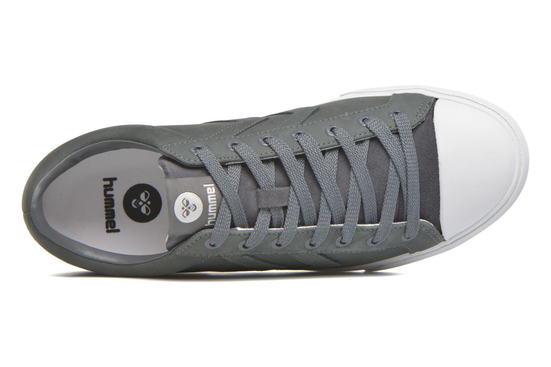 Sneaker Hummel Baseline Court Leather grau ansicht von links