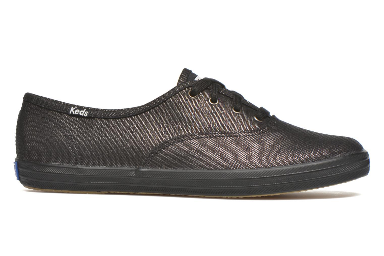 Sneaker Keds Ch Metallic Canvas schwarz ansicht von hinten