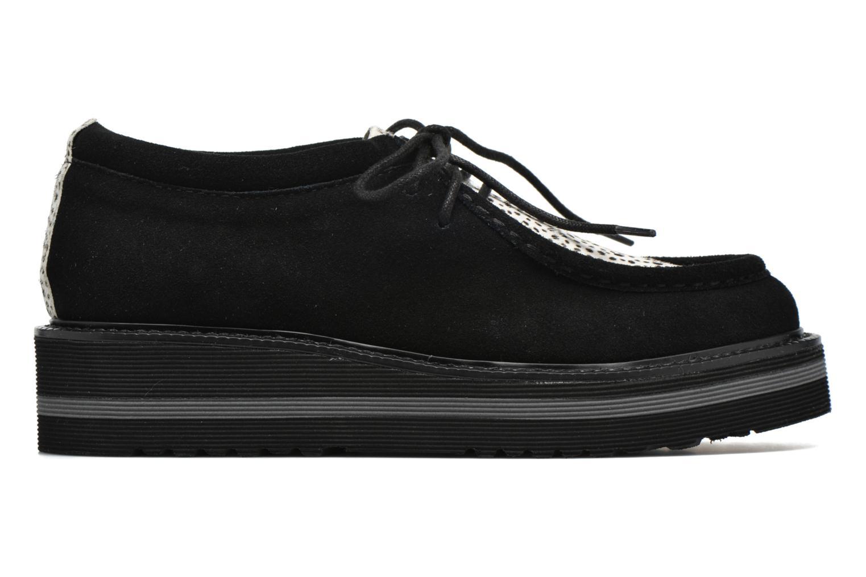 Chaussures à lacets No Name Blow Mike Suede / Pony Linx Noir vue derrière