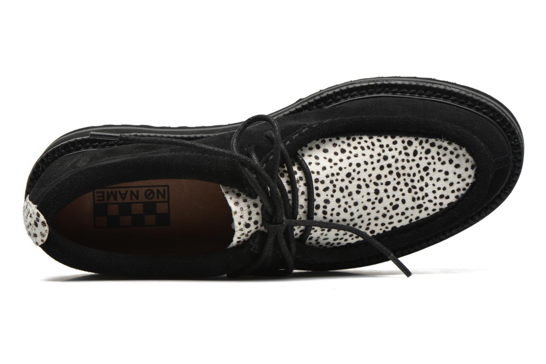 Chaussures à lacets No Name Blow Mike Suede / Pony Linx Noir vue gauche