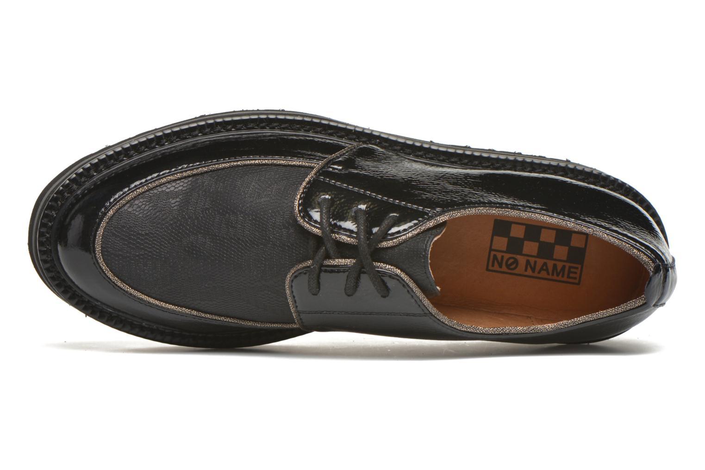 Chaussures à lacets No Name Blow Derby Crease / Skin Noir vue gauche
