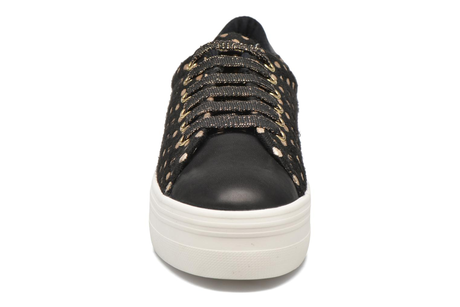 Baskets No Name Plato Sneaker Mary / Nappa Noir vue portées chaussures