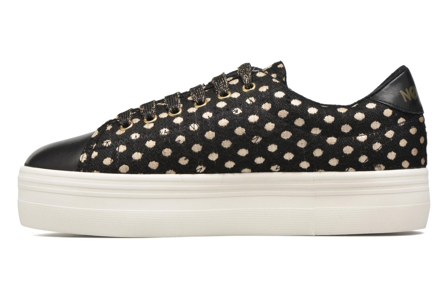 Trainers No Name Plato Sneaker Mary / Nappa Black front view