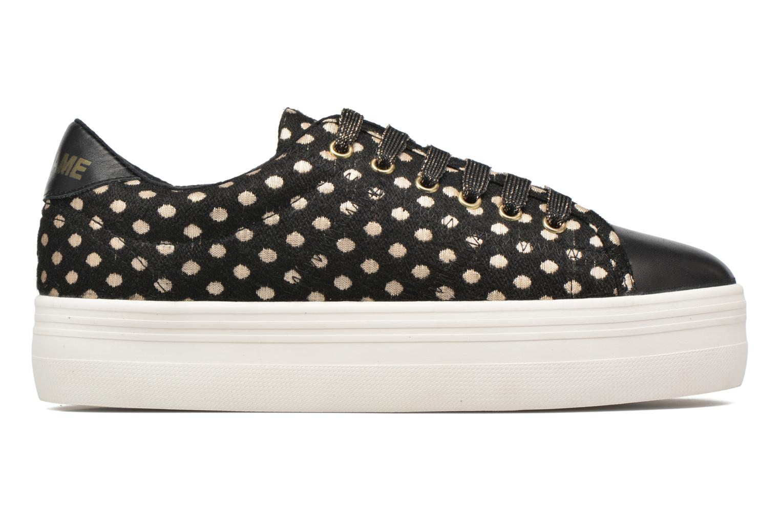 Trainers No Name Plato Sneaker Mary / Nappa Black back view