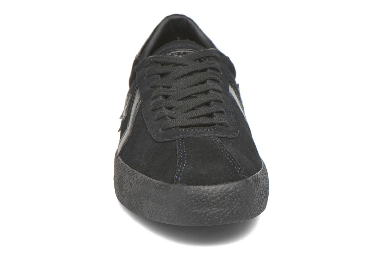 Baskets Converse Break Point Mono Suede Ox Noir vue portées chaussures