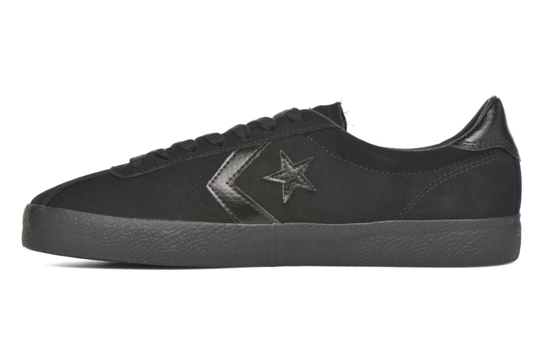 Sneaker Converse Break Point Mono Suede Ox schwarz ansicht von vorne
