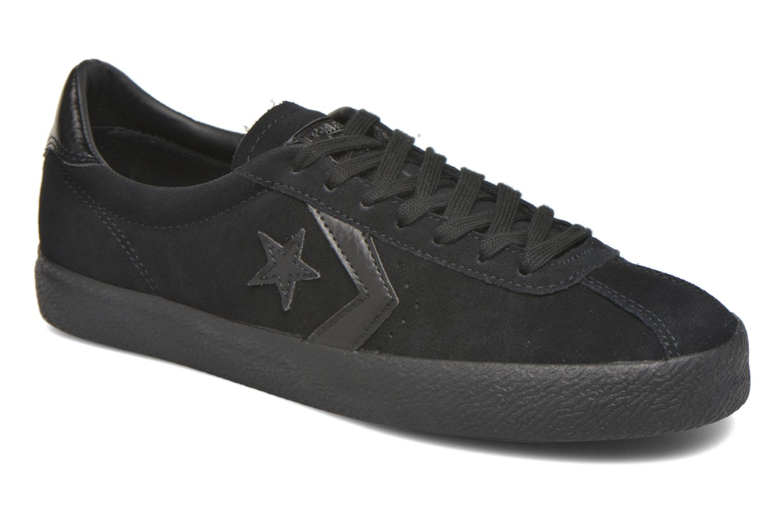 Baskets Converse Break Point Mono Suede Ox Noir vue détail/paire