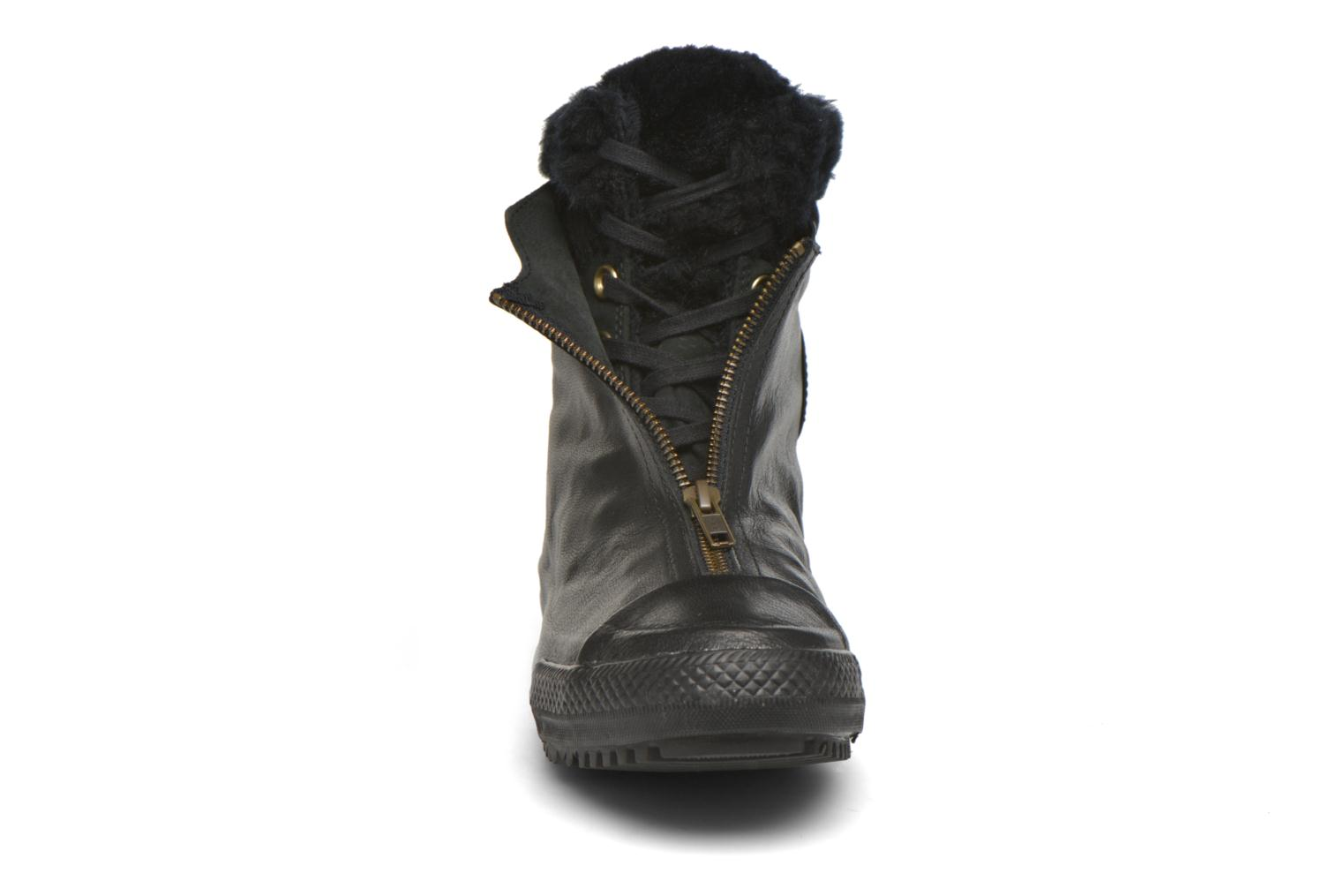 Trainers Converse Chuck Taylor All Star Boot Shroud Leather+Fur X-Hi Black model view