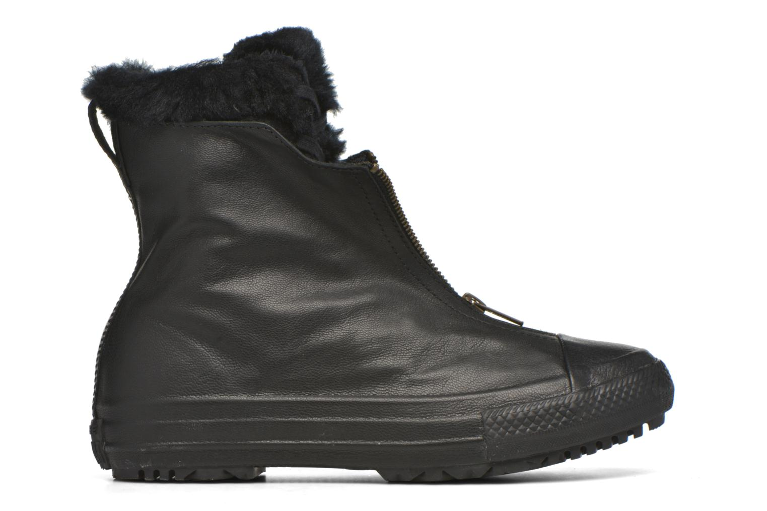 Baskets Converse Chuck Taylor All Star Boot Shroud Leather+Fur X-Hi Noir vue derrière