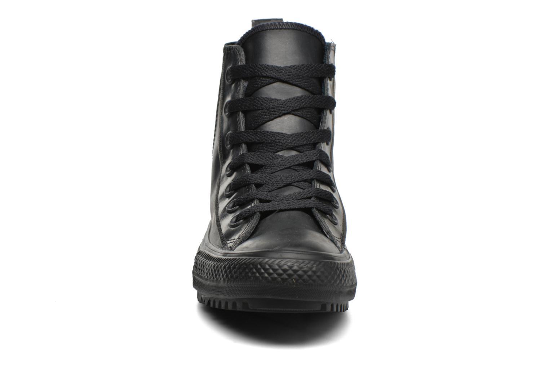 Baskets Converse Ctas Chelsea Boot Rubber Hi Noir vue portées chaussures