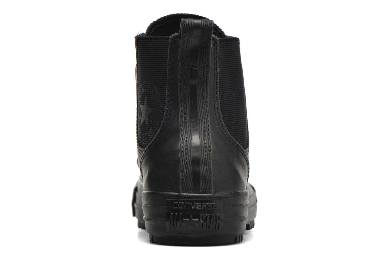 Baskets Converse Ctas Chelsea Boot Rubber Hi Noir vue droite