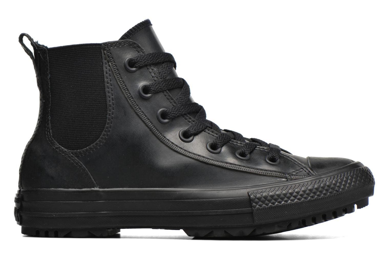 Sneaker Converse Ctas Chelsea Boot Rubber Hi schwarz ansicht von hinten