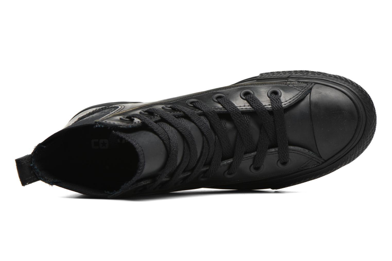 Baskets Converse Ctas Chelsea Boot Rubber Hi Noir vue gauche