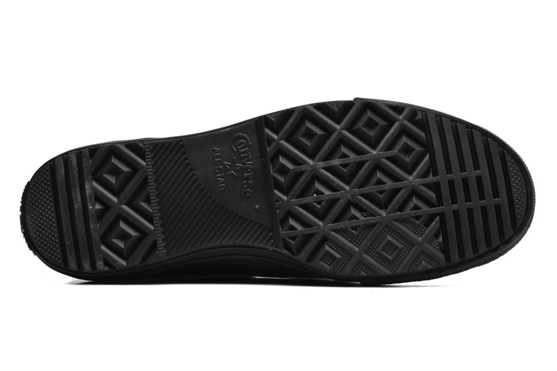 Baskets Converse Ctas Chelsea Boot Rubber Hi Noir vue haut