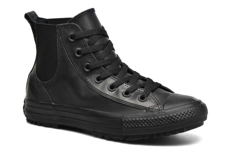 Baskets Converse Ctas Chelsea Boot Rubber Hi Noir vue détail/paire
