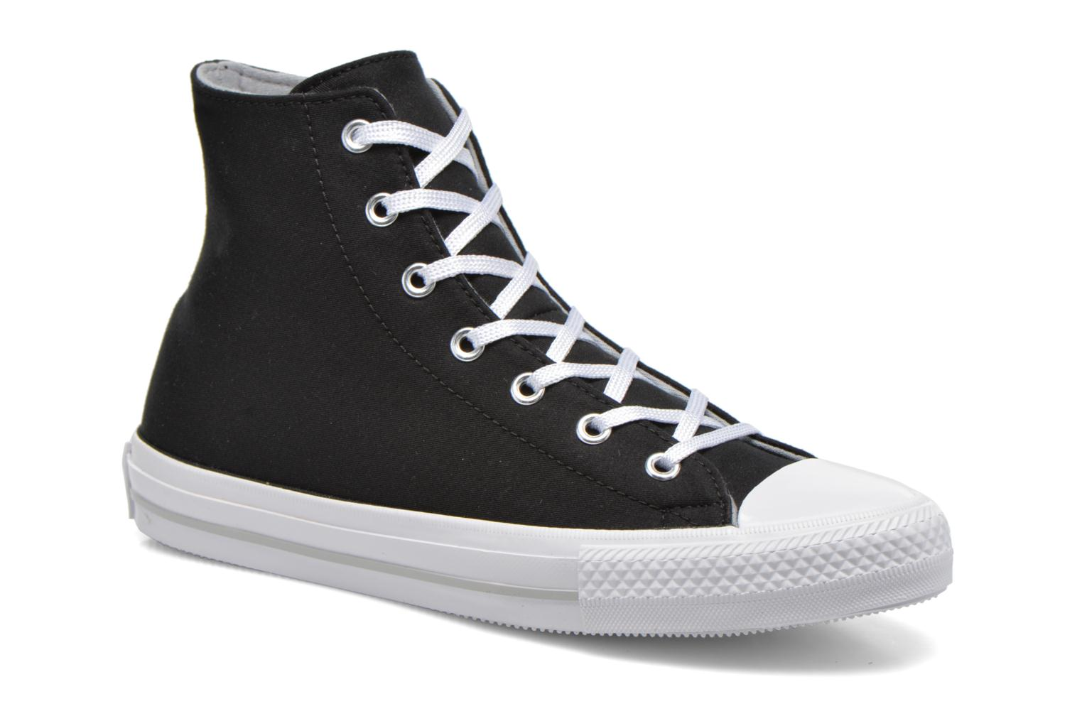 Trainers Converse Chuck Taylor All Star Gemma Twill Hi Black detailed view/ Pair view
