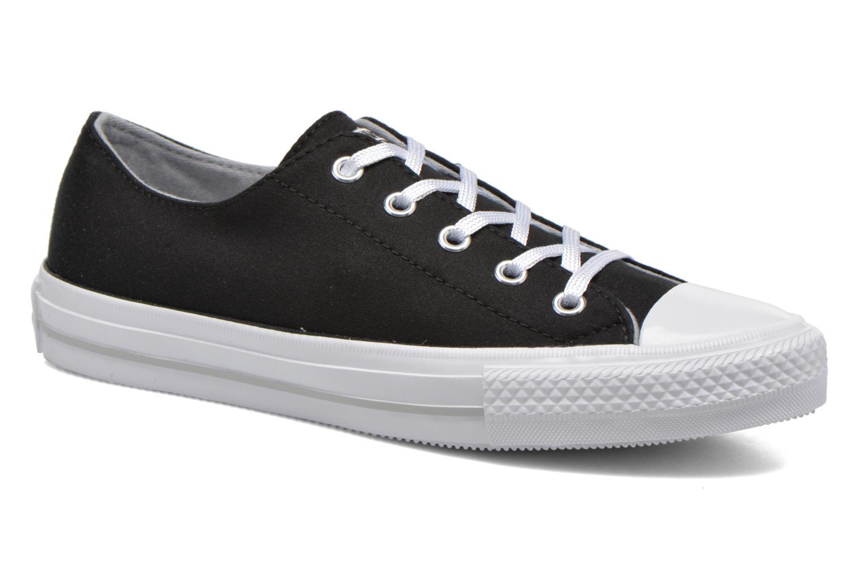 Sneaker Converse Chuck Taylor All Star Gemma Twill Ox schwarz detaillierte ansicht/modell